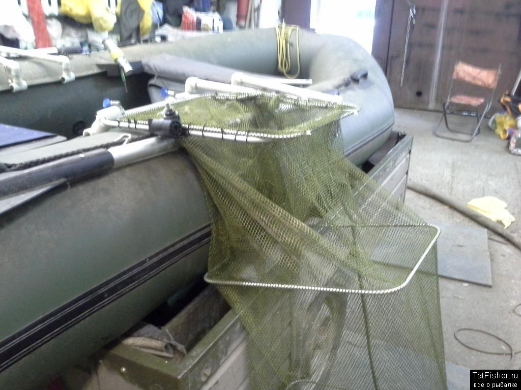 Садок для лодки своими руками 17
